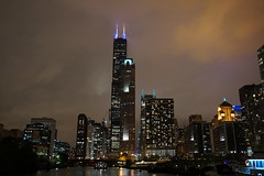 Willis Tower and Chicago River
