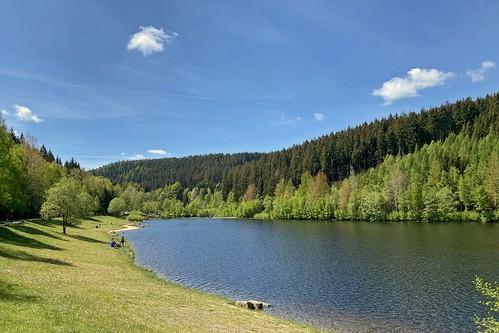 Naturbad Talsperre Falkenstein