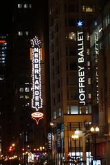 Nederlander, Chicago neon lights