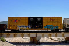 Freight Train Graffiti - SoCal - 5-23-2020