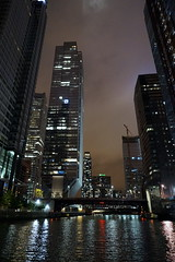 Chicago River at Night