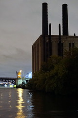 Union Station Powerhouse and Chicago River