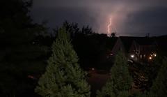 And what do I do when lightning, lightning strikes me