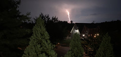 Lightning is striking again and again and again and again