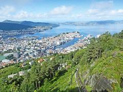Norvège, la ville de Bergen