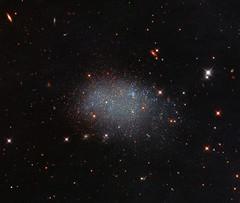 Hubble Sees Stellar Glitter in a Cosmic Void