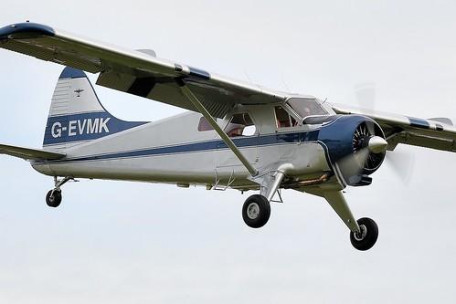 1953 De Havilland DHC-2 Beaver Mk-1 G-EVMK  Serial number 672