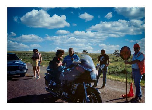 Outside Newcastle, Wyoming, USA - 1990.