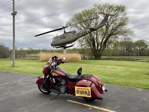 05-22-2020 Ride Tour Of Honor Huey - Waupaca,WI