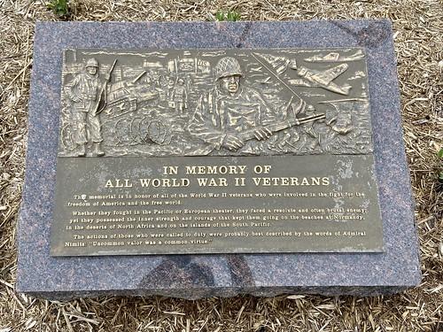 05-22-2020 Ride WWII Memorial - Wisconsin Rapids,WI