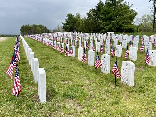 05-22-2020 Ride Wisconsin Veteran Memorial Cemetery - King,WI