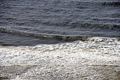 Breaking waves (Pacific Ocean shoreline north of Florence, Oregon, USA) 3
