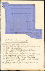 Waitangi Redoubt Plan, Chatham Islands
