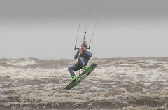 Kite Surfing Fylde Coast 24.05.2020