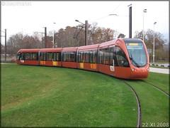 Alstom Citadis 302 – Setram (Société d'Économie Mixte des TRansports en commun de l'Agglomération Mancelle) n°1021 (Pays de la Loire)