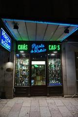 Tea & Coffee Shop at night, Lisbon