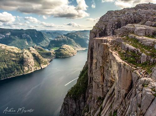 Lysefjord - Preikestolen, The Pulpit Rock (Norway)