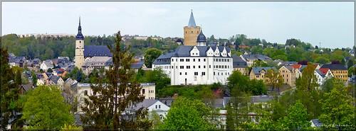 Zschopau mit Schloss Wildeck