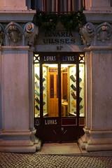 Glove Store at night, Lisbon