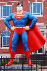 Superman Wears a Mask in Metropolis
