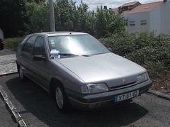 Abandoned 1992 Citroen ZX