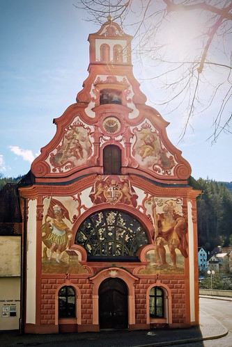 Colorful Building in Füssen