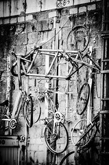 bicycle mess