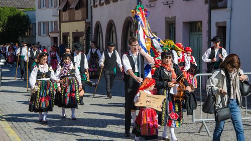 Immigration portugaise - Fête du Raisin de Molsheim