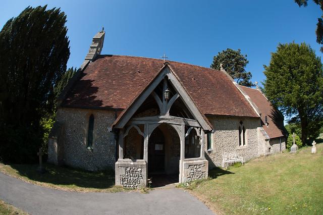 Cadmore End Church.
