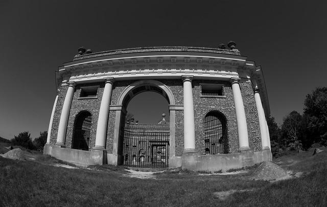 West Wycombe Mausoleum.