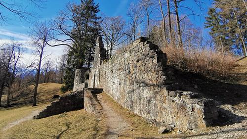 Old Castle Ruin in Füssen