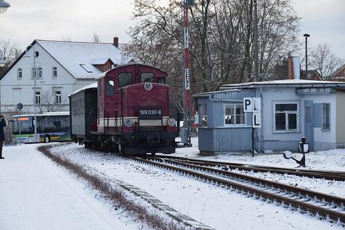 The narrow-gauge 'Wild Robert' Döllnitz Railway