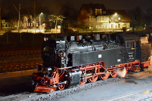 Steaming at Wernigerode station