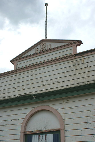 Opotiki: former Drill Hall (c.1913) (2) - detail