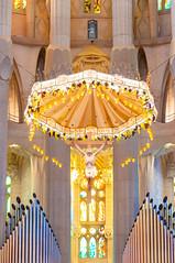 The Altar at La Sagrada Familia - Barcelona