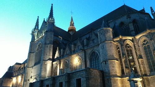 La collégiale Sainte-Waudru, Mons