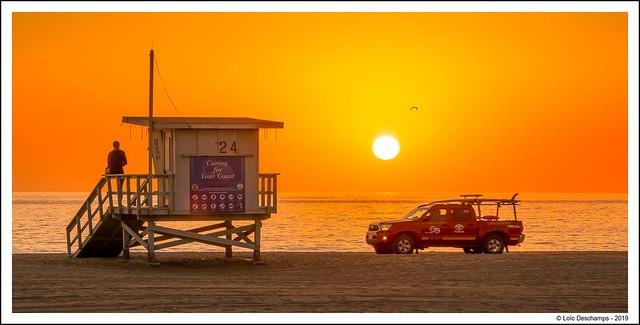 Venice Beach - Coucher de soleil