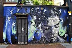 Psyche By Jimmy C:   Shoreditch London  Street Art