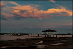 Sunset cloud at Redcliffe Jetty-1=
