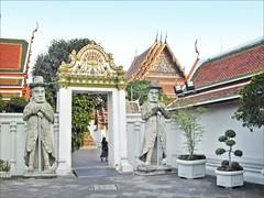 Le temple du Bouddha couché (Bangkok, Thaïlande)