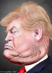 Donald Trump - Caricature