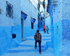 Morocco, Chefchaouen - Out of the blue - December 2015