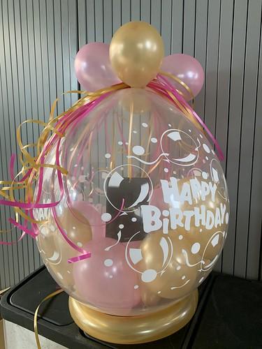 Kadoballon Verjaardag