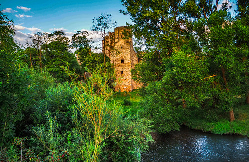 Amazing castle in Drzewica