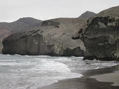 Playa de Monsul.San José. Níjar (Almería)