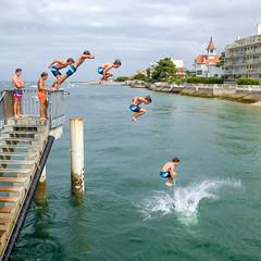 Petit exercice de folie... envie folle de plonger dans l'eau