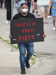 Protest against police violence - Justice for George Floyd