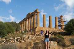 Valley of the Temples, Agrigento, Sicily. 意大利