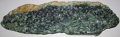 Corundum amphibolite (Chunky Gal Complex, Ordovician, ~458 Ma; Chunky Gal Mountain, Blue Ridge, North Carolina, USA) 1