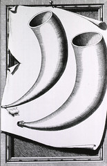 Cupping horns used in Egypt in the 16th century